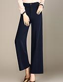 tanie Damskie spodnie-Damskie Aktywny Luźna Spodnie szerokie nogawki Spodnie Solidne kolory