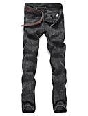ieftine Pantaloni Bărbați si Pantaloni Scurți-Bărbați Zvelt Blugi Pantaloni Mată