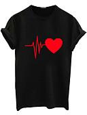preiswerte T-Shirt-Damen Geometrisch T-shirt