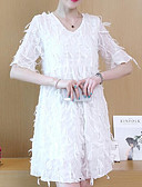 povoljno Dresses For Date-Žene Pamuk Bodycon Haljina Do koljena
