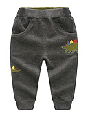 povoljno Majice za Za dječake bebe-Dijete koje je tek prohodalo Dječaci Osnovni Print Kratke hlače Tamno siva