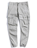 ieftine Pantaloni Bărbați si Pantaloni Scurți-Bărbați Vintage / De Bază Pantaloni Chinos Pantaloni Mată
