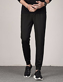 ieftine Pantaloni Bărbați si Pantaloni Scurți-Bărbați De Bază Pantaloni Chinos Pantaloni Dungi
