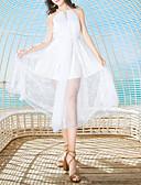 povoljno Ženske haljine-Žene Plaža Slim Korice Haljina Na vezanje oko vrata Maxi