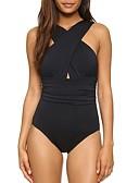 ieftine One-piece swimsuits-Pentru femei Costum de baie Spandex Salopetă Uscare rapidă Elastic Fără manșon Înot Sporturi Acvatice  Mată Primăvara & toamnă Vară
