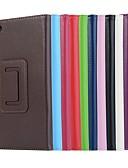 halpa Muu tapaus-Etui Käyttötarkoitus Lenovo Lenovo Tab 7 Essential / Lenovo Tab 4 7 Essential Tuella / Magneetti Suojakuori Yhtenäinen Kova PU-nahka