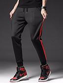 povoljno Muške duge i kratke hlače-Muškarci Osnovni Sportske hlače Hlače Prugasti uzorak