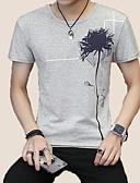povoljno Muške majice i potkošulje-Majica s rukavima Muškarci Dnevno / Izlasci Cvjetni print