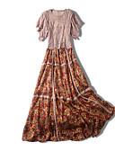 ieftine Costum Damă Două Bucăți-Pentru femei Set - Floral, Fustă