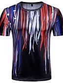 povoljno Muške majice i potkošulje-Majica s rukavima Muškarci Dnevno Geometrijski oblici