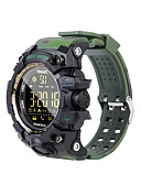 cheap Sport Watches-Smartwatch EX16S for Android iOS Bluetooth Waterproof Calories Burned Long Standby Creative New Design Stopwatch Pedometer Call Reminder Activity Tracker / Pedometers / Gravity Sensor / >480