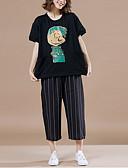 povoljno Majica s rukavima-Majica s rukavima Žene Izlasci Geometrijski oblici