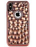 halpa MacBook tarvikkeet-Etui Käyttötarkoitus Apple iPhone X / iPhone 8 Plus / iPhone 8 Paljetti Takakuori Sydän / Color Gradient Pehmeä TPU