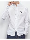ieftine Maieu & Tricouri Bărbați-Bărbați Cămașă Chinoiserie - Scrisă