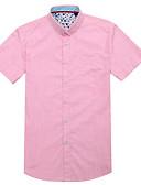 povoljno Muške košulje-Majica Muškarci Rad Na točkice
