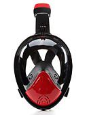 baratos Cintos de Moda-Máscaras de mergulho / Máscara de Snorkel Anti-Nevoeiro, Máscaras Faciais, Embaixo da agua Janela Única - Natação, Mergulho Silicone -