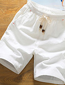 cheap Men's Pants & Shorts-Men's Cotton Shorts Pants - Solid Colored
