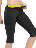 זול טישרט-מכנסי הרזייה עם נאופרן ירידה במשקל, שמן מבער, בטן כושר ל יוגה / כושר וספורט בגדי ריקוד גברים / בגדי ריקוד נשים