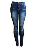 ieftine Fuste de Damă-Pentru femei Activ Pantaloni Chinos Pantaloni Mată Alb negru