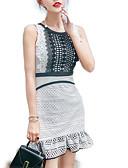 رخيصةأون فساتين للنساء-فستان نسائي A line قصير جداً خصر عالي مناسب للخارج