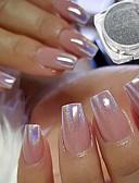 cheap Fashion Belts-2pcs Artificial Nail Tips Glitter Powder Fashionable Design / Luminous nail art Manicure Pedicure Retro Wedding Party / Daily Wear
