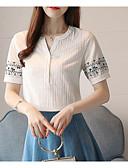 povoljno Ženske suknje-Majica Žene - Osnovni Dnevno Geometrijski oblici Vezeno