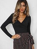 povoljno Ženske suknje-bodysuit Žene - Osnovni Dnevno Jednobojni V izrez