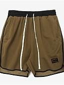 baratos Pólos Masculinas-Homens Básico Shorts Calças - Sólido