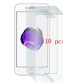 billige iPhone-etuier-Skærmbeskytter for Apple iPhone 8 Hærdet Glas 10 stk Skærmbeskyttelse 9H hårdhed / Ridsnings-Sikker