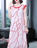 cheap Women's Swimwear & Bikinis-Women's Daily Basic A Line Dress Red L XL XXL