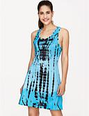 رخيصةأون فساتين للنساء-مع حمالة عالي الخصر طباعة, ورد - فستان فضفاض شاطئ للمرأة