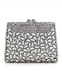 preiswerte Korsetts & Bustiers-Damen Taschen Aleación Abendtasche Kristall Verzierung / Ausgehöhlt Gold / Silber