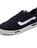 abordables Camisas de Hombre-Hombre Tela Otoño Confort Zapatillas de deporte Blanco / Negro