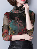 ieftine Rochii Cocktail-Pentru femei Guler Pe Gât Bluză Geometric