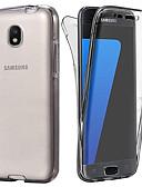 preiswerte Handyhüllen-Hülle Für Samsung Galaxy J7 (2017) / J5 (2017) Transparent Ganzkörper-Gehäuse Solide Weich TPU für J7 (2017) / J6 / J5 (2017)