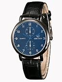ieftine Ceasuri de Lux-Bărbați Ceas Elegant Ceas de Mână Quartz Model nou Ceas Casual PU Bandă Analog Casual Modă Negru / Maro - Negru Maro Negru / Alb Un an Durată de Viaţă Baterie