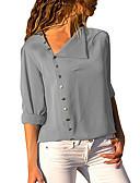 povoljno Ženski džemperi-Majica Žene Dnevno / Izlasci Jednobojni Kragna košulje