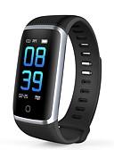 abordables Biquinis y Bañadores para Mujer-JSBP YY-Q16 Pulsera inteligente Android iOS Bluetooth Deportes Impermeable Monitor de Pulso Cardiaco Medición de la Presión Sanguínea Pantalla Táctil Reloj Cronómetro Podómetro Recordatorio de