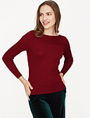 ieftine Bluză-Pentru femei Tricou Bumbac Șic & Modern - Mată