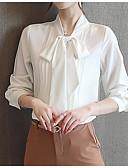 ieftine Bluză-Pentru femei Stil Nautic Bluză Ieșire Mată