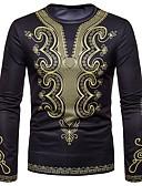 お買い得  メンズTシャツ&タンクトップ-男性用 プリント Tシャツ ヴィンテージ / ボヘミアン トライバル