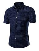 povoljno Muške košulje-Majica Muškarci - Aktivan / Ulični šik Dnevno / Izlasci Geometrijski oblici Print
