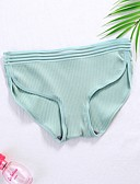 cheap Women's Lingerie-Women's Seamless Panties Solid Colored Low Waist