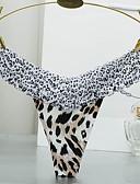 ieftine Chiloți-Pentru femei Leopard Linie G & Tanga Talie medie