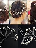 זול חליפות-קליפ לשיער חומר מעורב קליפסים מחטים / קליפסים ערכות / נשים 10 pcs לבוש יומיומי כיסויי ראש / תכשיטים