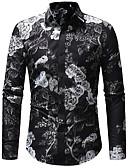 billige Herreskjorter-Skjorte Herre - Fargeblokk Grunnleggende