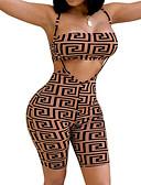 ieftine Bluze de Damă-Pentru femei Boho Salopete Geometric
