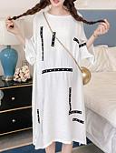povoljno Maxi haljine-Žene Izlasci Širok kroj Majica Haljina Midi