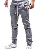 cheap Men's Pants & Shorts-Men's Basic Sweatpants Pants - Solid Colored Black