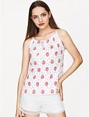 preiswerte Damen Kleider-Damen Blumen Tank Tops, Gurt / Sommer